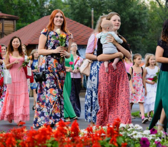 Дважды праздник в «Лесном» или Гимн женственности в международный день дружбы.